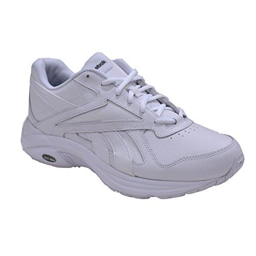 Reebok Women's Ultra V DMX Max Wd D Walking Shoe, Black White