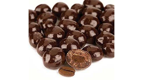 Dark Chocolate Covered Roasted Coffee Espresso Beans ~ Smarty Stop (2 LB) by Smarty Stop