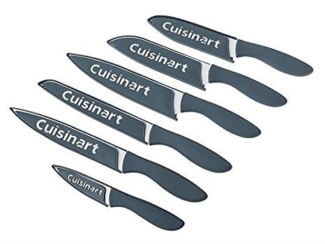 Amazon.com: Cuisinart - Juego de cuchillos con revestimiento ...