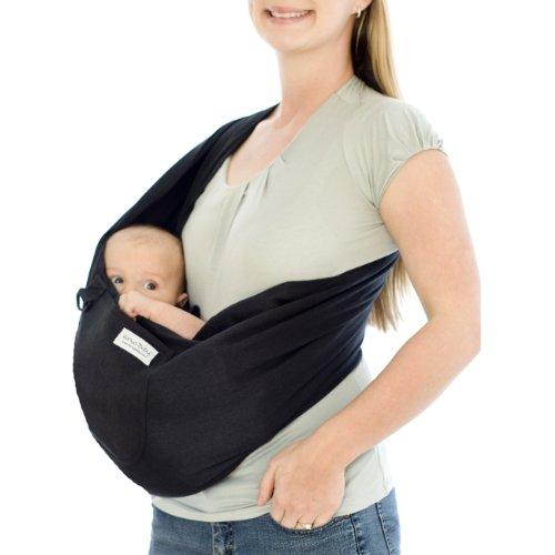 Karma Baby Slings Organic Sling, Black, Large