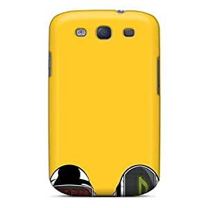 Hot Mbz1703KKCO Case Cover Protector For Galaxy S3- Daft Punk Masks