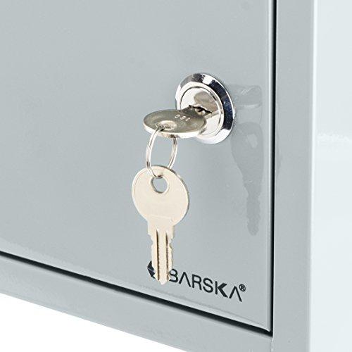 BARSKA Multi-Purpose Drop Box, Grey by BARSKA (Image #7)
