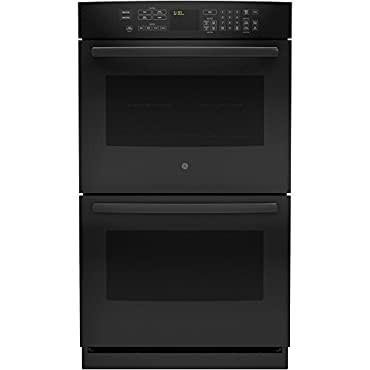 GE PT7550DFBB Profile 30 Black Electric Double Wall Oven Convection