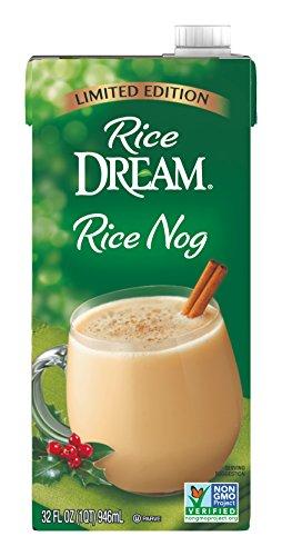 RICE DREAM Nog Rice Drink, 32 fl. oz. (Pack of 6) -