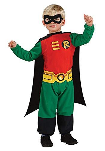 Teen Titans Robin Jumpsuit, Robin Print, 6-12