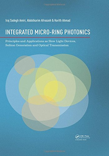 Integrated Micro-Ring Photonics: Principles and Applications as Slow Light Devices, Soliton Generation and Optical Trans