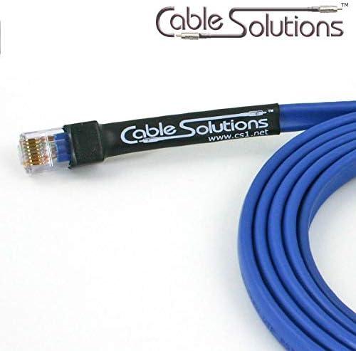 Cable w//connectors 14m Belden 7989R VideoTwist Cat-6
