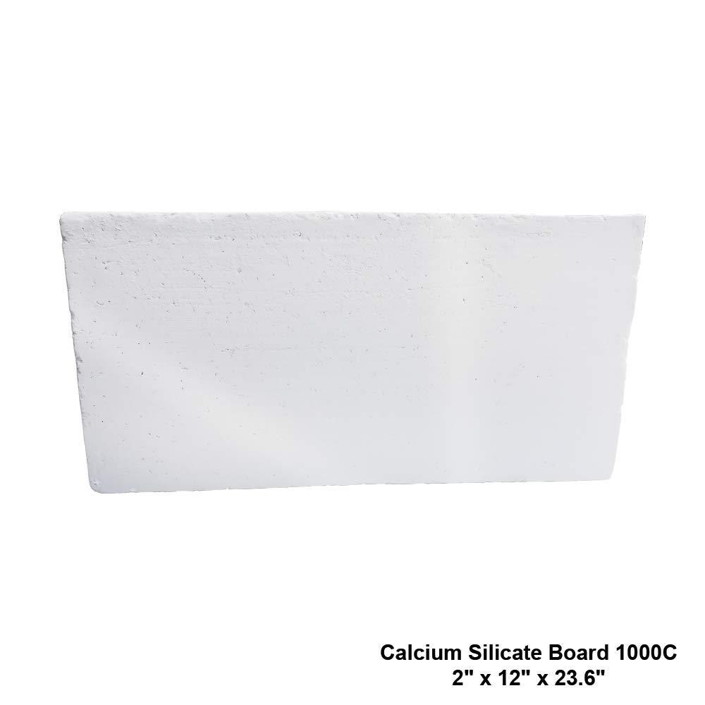 Insulation Calcium Silicate Board 1000C/1832F 2'' x 12'' x 23.6''