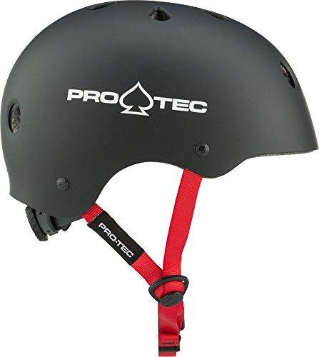 Pro-Tec Junior Classic Certified Multi-Sport Helmet with Fit System, Matte Black, XXXS