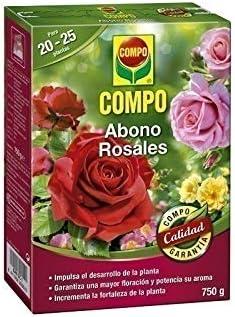 COMPO ABONO ROSALES 750 GR: Amazon.es: Jardín