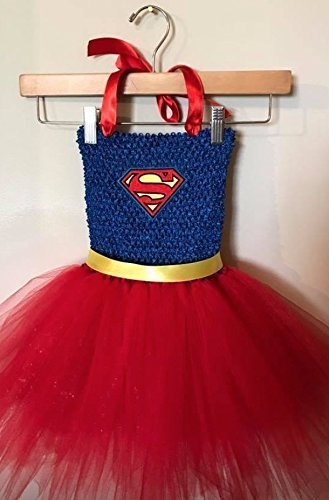 DC Supergirl Tutu Dress Up Costume (2T - 3T) & Amazon.com: DC Supergirl Tutu Dress Up Costume (2T - 3T): Handmade