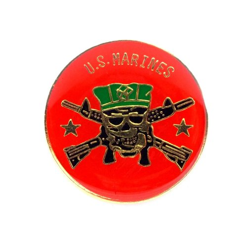 Marine Corps Hat Pin (US Marines Corps USMC Special Forces Lapel Hat Pin Military PPM669)