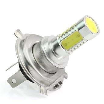 H4 Led Ampoule Lampe Eclairage Feux Blanc 12v Phare Conduire Lumiere