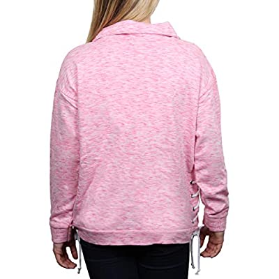 SALT CREEK APPAREL Ladies State Terry Side LACE 1/2 Zip Jacket at  Women's Clothing store