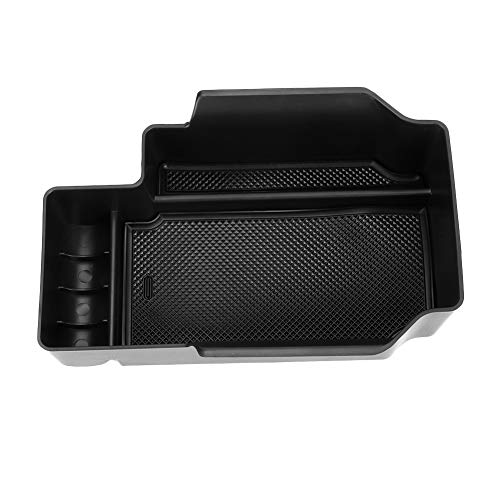 WOVELOT Car Center Console Armrest Box Storage Box Cup Holder For Tesla Model X//S 2012 2013 2014 2015 2016 2017