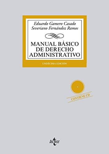 Descargar Libro Manual Básico De Derecho Administrativo Eduardo Gamero Casado