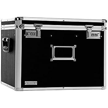 Amazon Com Vaultz Locking Mobile Wheelie Chest File Box