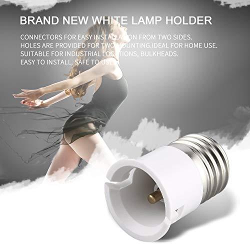 Lamp converter,Home E27 to B22 Socket Portable Light Bulb Base Professional Lamp Holder Converter Durable Light Accessories