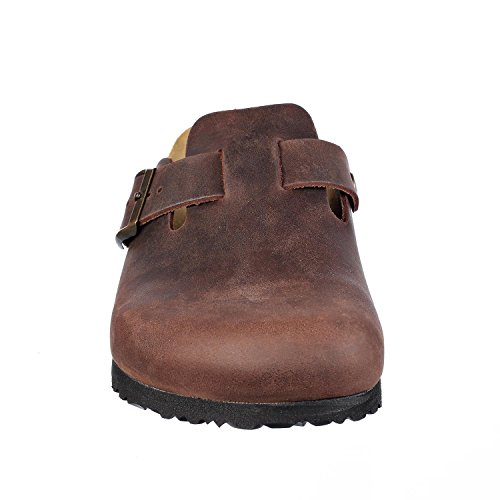Images of JOE N JOYCE Slippers Clogs Shoes Leather Habana 44 EU (11 M US Men) 44 EU (11 M US Men)