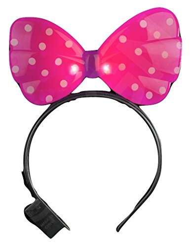LED Minnie Mouse Headband - Pink]()