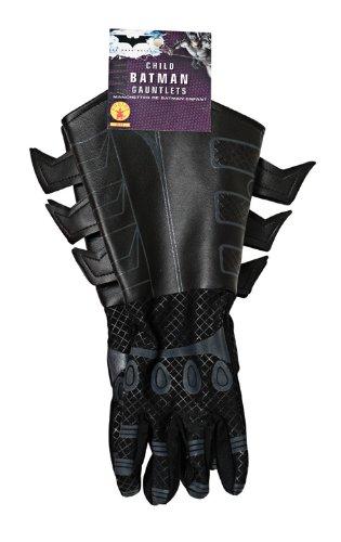 82fe7f43493a82 Batman The Dark Knight Kinder Handschuhe Kostüm Zubehör Lederoptik schwarz