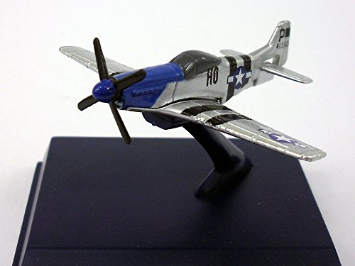P-51 Mustang World War II Fighter 1/160 Scale Diecast Metal Model