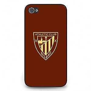 Custom Athletic Club de Bilbao Funda for Iphone 4 Black Hard Case