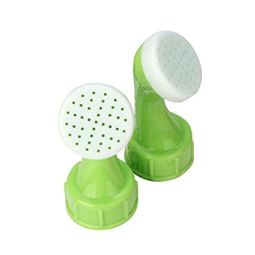 Topgee Watering Tool Multi-Shape Mounting Head Plastic Sprinkler Nozzle for Flower Waterers Bottle Watering Cans Sprinkler Shower Head Garden Tool