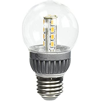Lights of America 2426LED-LF3-24 2.5-Watts 135-Lumen Power LED Warm White Light Bulb for Pendants and Outdoor Lanterns