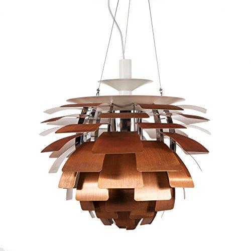 Artichoke Copper Pendant Light - 9