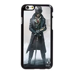 funda iPhone Q1L21 Assassins Creed Syndicate Jacob J3D8XG 6 4.7 pufunda LGadas funda caja del teléfono celular cubre PI1HAL3ZQ negro