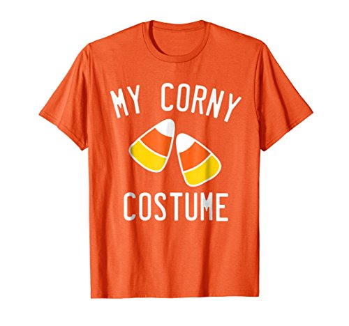 Mens Funny Halloween Candy Corn Costume T-Shirt - For Halloween 3XL Orange