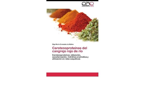 Carotenoproteínas del cangrejo rojo de río: Amazon.es ...