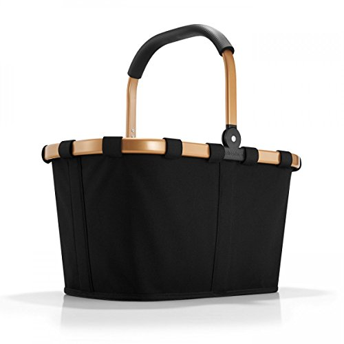 Reisenthel Carrybag Shopping Étoiles 7046 Schwarz Gold