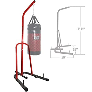 Ringside Prime Free-Standing Station Steel Boxing MMA Heavy Bag Stand 5