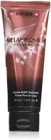 Melanie Mills Hollywood Moisturizing Gleam Body Radiance - Rose Gold, 1 fl.oz.