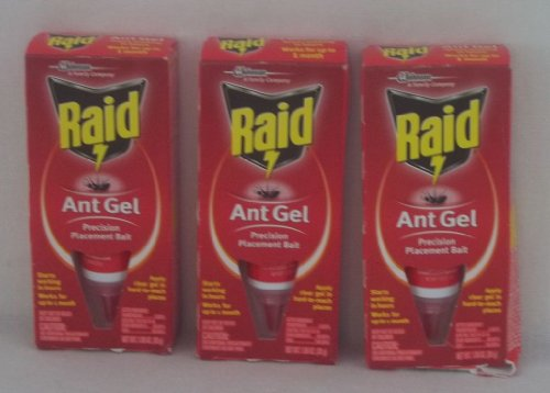 Raid Precision Placement Ant Bait Gel, 3 3 Pack 3