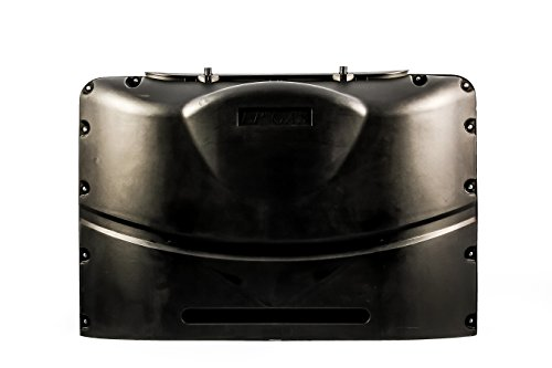Camco 40572 Black Heavy-Duty Double Propane Tank Cover