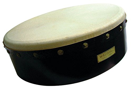 Waltons WM2430 18-Inch Tunable Black Bodhran