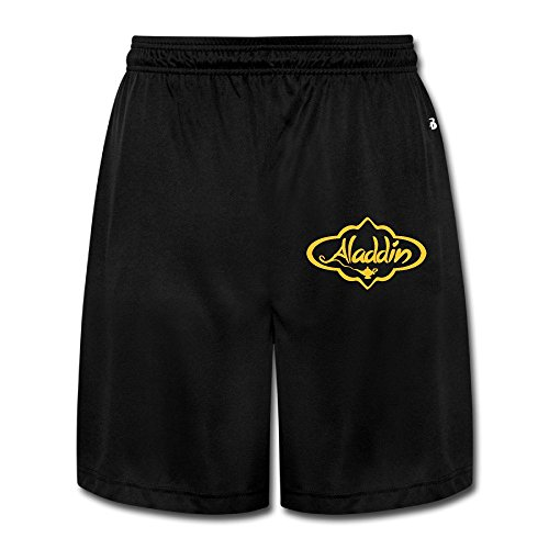 Aladdin Costumes Jr Disney (Aladdin Logo Men Short Pants Legs)