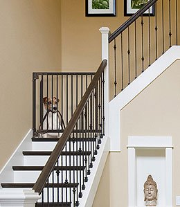 Richell Expandable Walk-Thru Pet Gate - Richell Gates