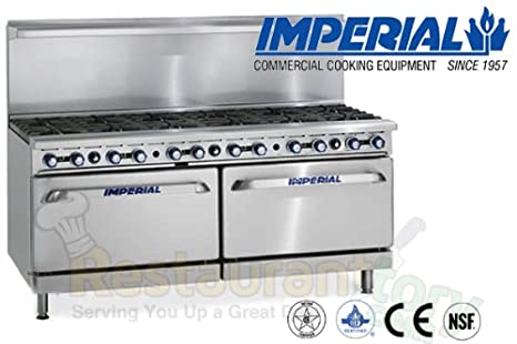 Amazon.com: Imperial Commercial Restaurant Range 72\