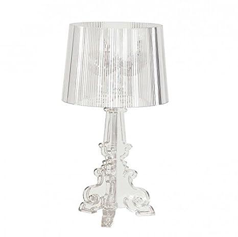 Lampada Kartell Bourgie cristallo trasparente design barocco: Amazon ...