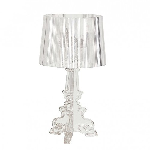 Kartell Bourgie Crystal Table Lamp 120 W Transparent Amazoncouk