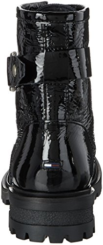 Combat Hilfiger Damen Boots 5a C1385orey Denim IZwgZvq