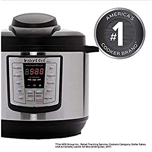 NEW-Instant-Pot-LUX-800-8Quart-Pressure-Cooker-Steamer-Slow-Cooker-Rice-Cooker