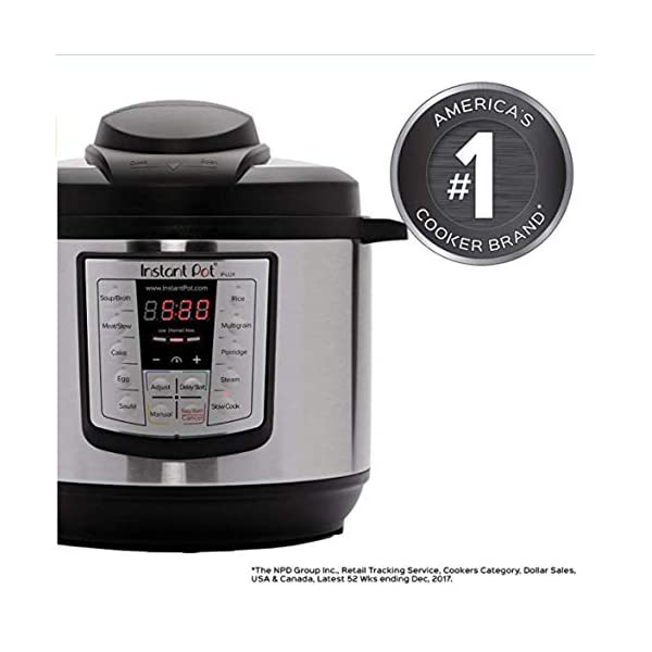 NEW Instant Pot LUX-800 8Quart Pressure Cooker, Steamer, Slow Cooker, Rice Cooker 2