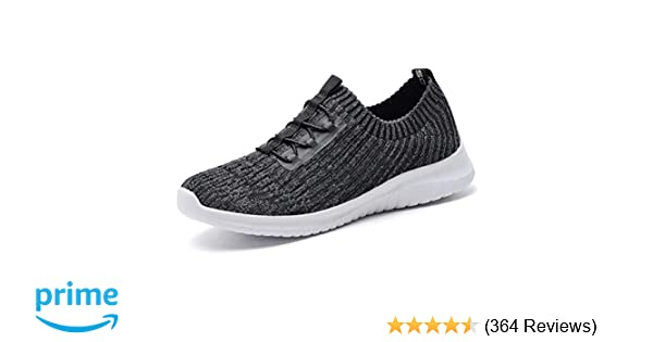 33c3d1986c konhill Women's Comfortable Walking Shoes - Tennis Athletic Casual Slip on  Sneakers