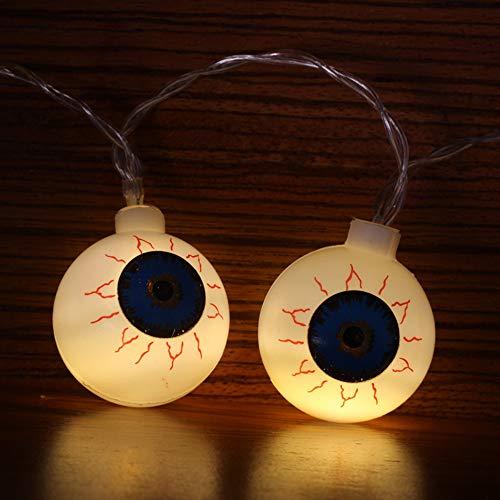 Finedayqi  Halloween Party Ghost Festival Pumpkin LED Battery Lantern String Decoration -