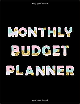 monthly budget planner budget planning planner journal notebook